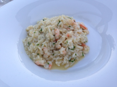 Shrimp and Lemon Risotto